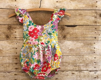 Baby clothes romper Boho baby girl clothes first birthday outfit overalls little girl photo shoot outfit girl boho onesie kids toddler