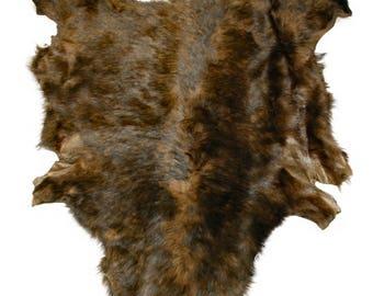 Glacier Wear Tuscan Lamb Hide Pelt Fur Brown-Tipped shp6099