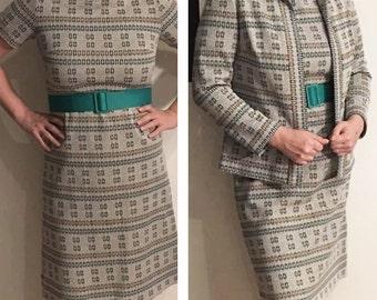 Sale -Mod gray dress with Jacket