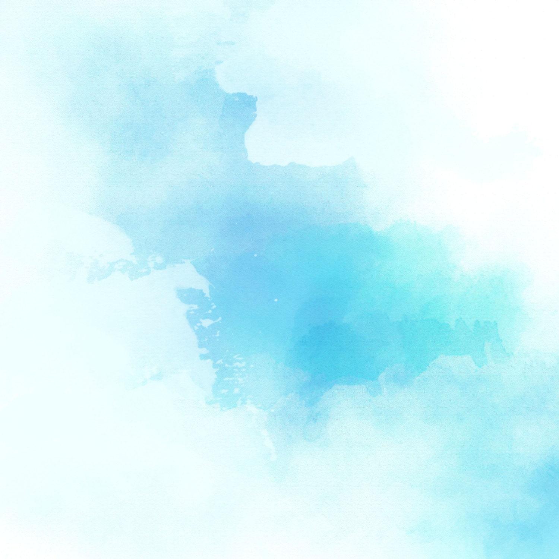 Blue Watercolor Scrapbook Blue Teal Aqua Mint Pastel