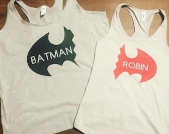 Batman and Robin Best Friends