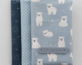 Lovely Bear on cotton, U375