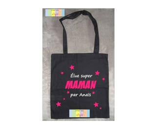 "Bag personalized tote bag ""one great Mom"" gift idea for MOM"