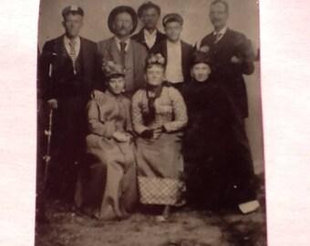 1800's TINTYPE PHOTOGRAPH