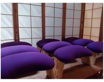 Upholstered Meditation Bench