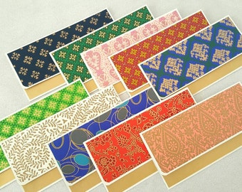 Set of 10 - Indian Wedding favors / indian gift envelopes / assorted envelopes / money envelopes / cash envelope