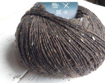 Debbie Bliss Fine Donegal dark brown 54022 Merino Wool and Cashmere