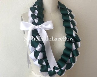 Graduation Lei-Satin Ribbon w/Side Bow