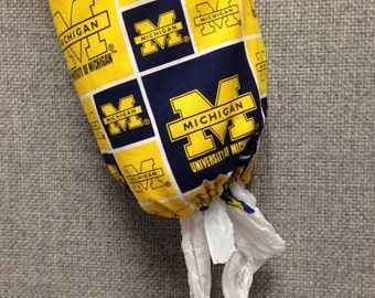 University of Michigan Plastic Bag Dispenser