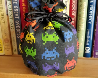 My Pretty Dice Bag - Space Invaders Edition