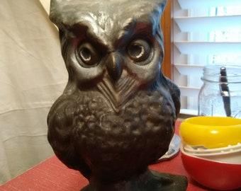 Vintage  Ceramic Wise Old Owl