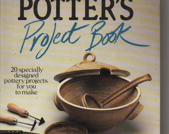 The Potter's Project Book  Hardback Book 1985