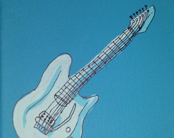 Electric Guitar Painting