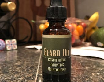 Citrus Forest Beard Oil scented with organic essential oils