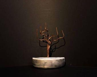 Tree jewelry - Crescent Moon