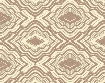 Jenean Morrison PWJM071 In My Room Pillow Fort Tan Cotton Fabric 1 Yard