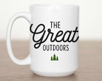 11 oz or 15 oz The Great Outdoors Mug