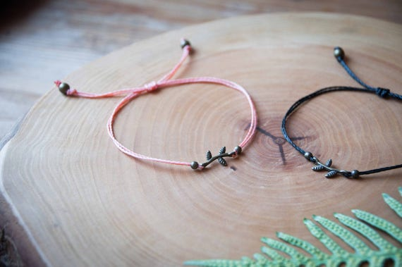 Friendship nature bracelet