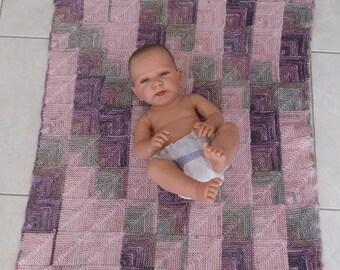 babyblanket, handknitted, woolblanket, bamboo, strollerblanket, cuddling, blanket, knitting for baby, ready for ship, patchwork