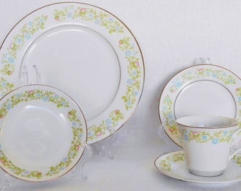 Georgia by Towne House Selected Fine China 65 Piece Dinnerware Set Towne House Dinnerware Set  sc 1 st  Etsy & China house | Etsy