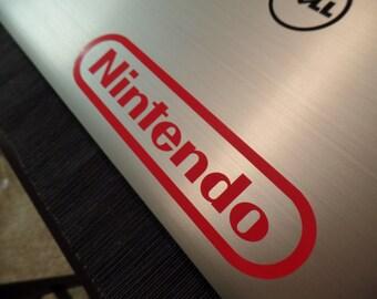 Nintendo Logo NES Vinyl Decal Sticker