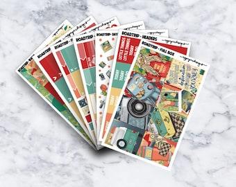 Roadtrip | Wöchentliche Kit | Sticker | Erin Condren | Glücklich Planner