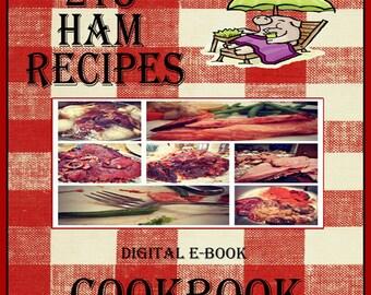 215 Ham Recipes E-Book Cookbook Digital Download
