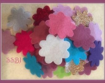 "5 Wool Felt Sheets YOU PICK your colors-9x12"" Sheets Wool Felt-Craft Felt-Wholesale-Wool Blend Merino Felt"