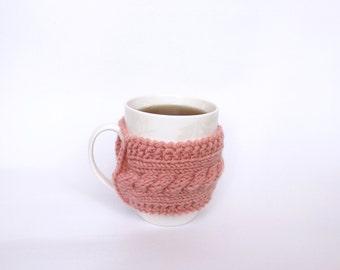 Coffee Cozy Reusable Coffee Cup Cozy Crochet Coffee Sleeve Knit