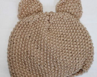 Newborn Baby Bear Hat