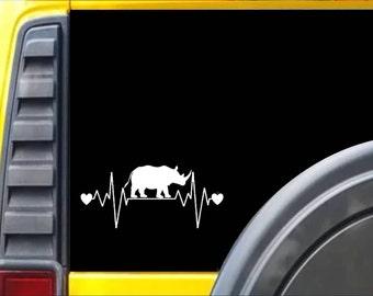 Rhino Lifeline Window Decal Sticker *I242*