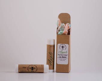 All-Natural Apple Honey Lip Balm .15oz (Free Shipping in the U.S.) for both men and women