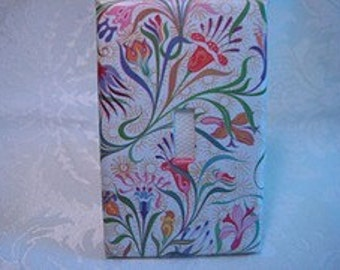Flowery Florentine Light Switch Plate Cover