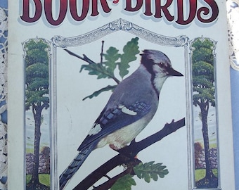 1919 Linenette Children's Book of Birds