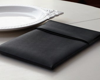 MacBook Air Case - Leather - 13 inch - Black - FREE SHIPPING
