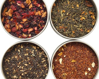 Heavenly Tea Leaves Flavored Tea Sampler, 4 Count