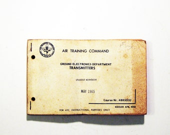"""Vintage """"Air Training Command"""" -Transmitters"""