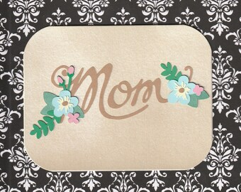 Blank notecard, Mother's Day, Birthday
