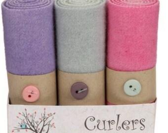 Spring Wool Curlers