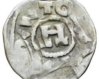 Italy Lucca 1039-1125 Denar Henry III-V Coin Silver