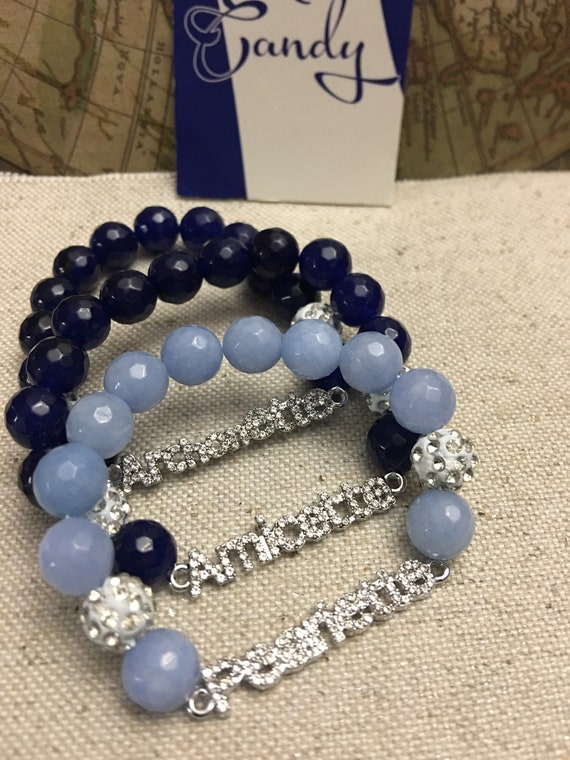 Zeta Phi Beta Youth Auxiliary Bracelets