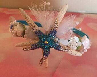 Xo bouquets starfish hair grapevine tiara headband crown