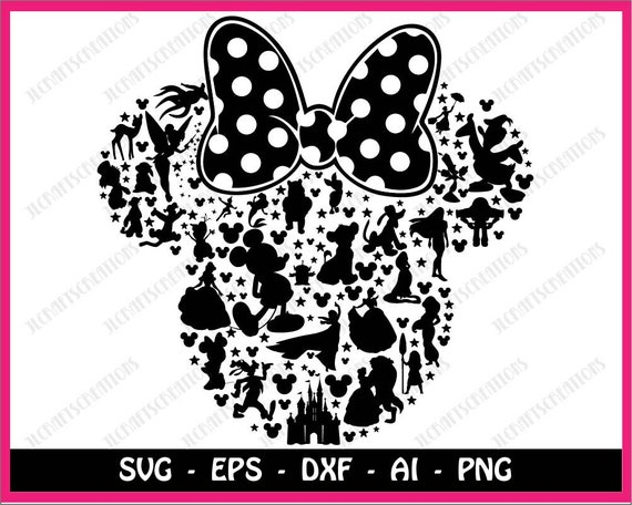 Minnie Mouse Svg Mickey Mouse Svg Disney Svg Mickey