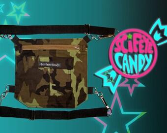 SciFeyeCandy Leg Bag 2.0 Green Army Print Holster Purse