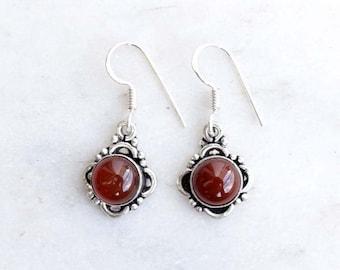 Carnelian Earring, Carnelian Stone , Stone Earring, Gift Earring, Carnelian Earring, Earring, Earrings,Bohemian Earring, Carnelian Jewellery