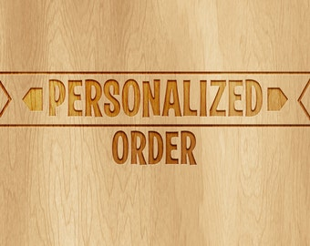 PERSONALIZED ORDER - Please Personalized my order