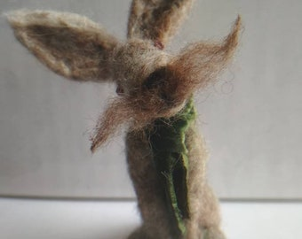 Handsome Needle felted Hare