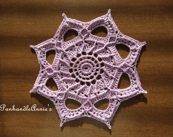 Juno Collection #7 Handmade Textured Lace Doily
