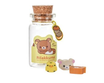 Rilakkuma, Korilakkuma, Kiiroitori, mini erasers, stationery, cute erasers, kawaii school supply, kawaii stationery, japanese office supply