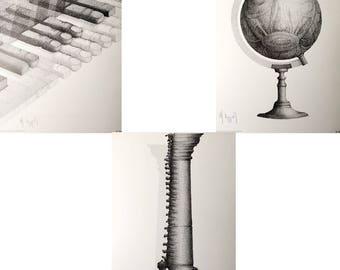 Les Metaphores de l'Anatomie - Henri-Jacques Darrort - 1977